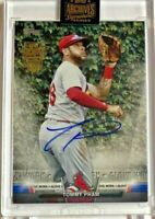 Tommy Pham 2021 Topps Archives Signature Series buyback auto #1/1 - Cardinals