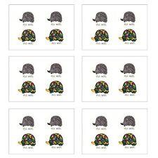 6 Sheets tortoise turtle Temporary Tattoo Temporary Tattoos Body Tattoos