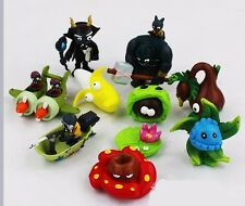 10x Plants vs Zombies 2 Action Figures Kid Toy Cake Topper Set Xmas Kid Gift #01