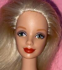 Barbie Doll Mackie Face Red Lips Blonde Hair Twist Turn Body Nude