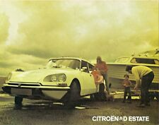 Citroen DS Safari 1973-75 UK Market Foldout Sales Brochure D23