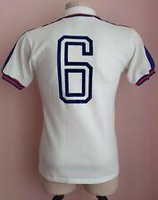 England1974 - 1980 Home football Admiral shirt #6 Match worn?