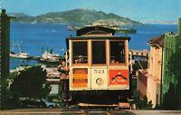 Postcard Cable Car San Francisco California