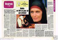 Coupure de presse Clipping 1986 (2 pages) Film Dalida