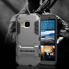 YELLOW-PRICE htc one m9 Armor Case [Slim Edge Coverage+Built-In Kick-Stand] 2015