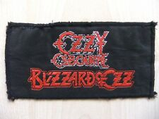 Aufnäher - Patch - Ozzy Osbourne - Blizzard Of Ozz - Heaven & Hell - 80/90´s