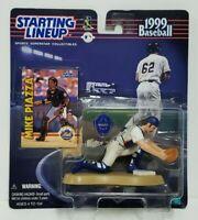 MIKE PIAZZA New York Mets Hasbro Starting Lineup SLU MLB 1999 Figure & Card RARE