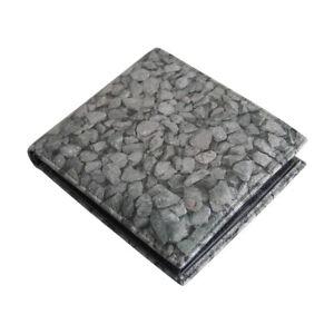 "ACME Studio ""Gravel"" Printed Leather Billfold Wallet by Adrian Olabuenaga NEW"