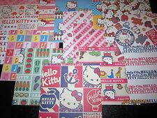 30 Sheets **6x6 Scrapbook Paper****  HELLO KITTY Theme