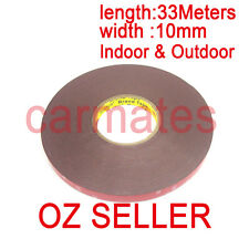 3M Genuine Automotive Acrylic Plus Double Face Sided Tape 10mm 33 Meters Sydney