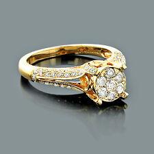 Echtschmuck Diamanten Ringe 585er Gelbgold Brillantring Goldschmuck Gold
