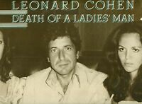 "LEONARD COHEN - DEATH OF A LADIE'S MAN PHIL SPECTOR 12"" LP FOC (L8160)"