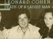 """LEONARD COHEN - DEATH OF A DAMES MAN PHIL SPECTOR 12"""" LP FOC (L8160)"""