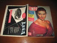 TEMPO 1954/51=ITALIAN MAGAZINE=MARISA ALLASIO COVER=VITTORIO DE SICA