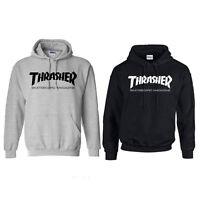 New Fashion Men's hoodie sweater Hip-hop skateboard Thrasher Women Sweatshirt Bo