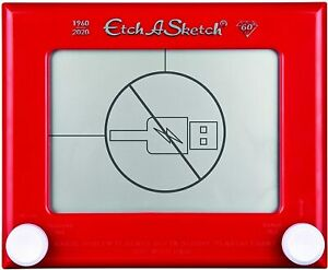 Etch A Sketch classic  - childs childrens kids toy red - 1960s 1970s - Brand new