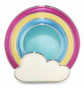 Bath & Body Works Rainbow Cloud Scentportable Holder Visor Clip
