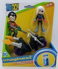 NEW Imaginext Teen Titans Go! Ravager and Chopper Ninja Villain Figures RARE toy