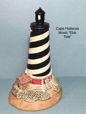 New ListingLefton Musical Cape Hatteras Lighthouse Wind up Plays Ebb Tide
