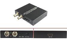 New SDI to HDMI + SDI Scaler Converter Box, 3G/HD/SD SDI to HDMI + SDI Extender