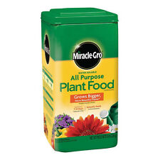 MIRACLE GRO PLANT FOOD 5 Lb Garden Lawn All Purpose Plants Feeding Growing