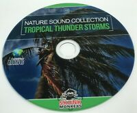 Nature Sounds CD Tropical Thunder Storm Stress Relaxation Meditation Sleep Aid