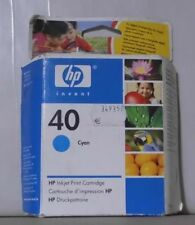 ORIGINALE HP 40 inchiostro 51640ce CIANO per Deskjet 1200c 1600 OVP