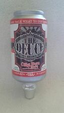 """COLLECTIBLE OSKAR BLUES BREWERY THE DUECE INDIAN BROWN ALE 7"""""""