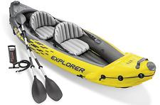 Intex Explorer K2 Kayak, 2-Person Inflatable Kayak Set w/ Oars & Pump
