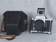 Real Nice Pentacon SIX TL Camera Body with Waist Level Finder & Case