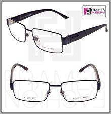 c5cdf5b3c9 GUCCI 2217 Navy Blue Stainless Steel RX Eyeglasses Optical Frame 55mm GG2217