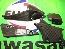Kawasaki ZX6-R 2009 09 Echt Carbon Hitzeschutz Auspuff 28533106