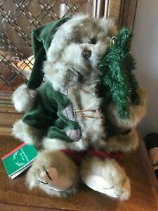 "Bearington Bear Collection - Collectible Series, ""Bringing Home the Tree"":  NWT"