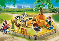 Playmobil 5968 ZOO WILD ANIMAL gabinete (incluye cebras, Suricatas, Jirafa +)