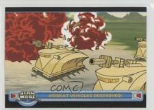 2004 Topps Star Wars: Clone Wars #30 Assault Vehicles Destroyed Card 1k3