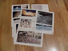 SET OF NINE(9) NASA 11 x 14 Photos Apollo 15