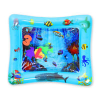 Baby Water Mats Tummy Time Inflatable Play Mat floor Activity Gym Crawling Kids