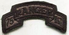 US Army 75th Ranger Rgt ACU Patch Tab
