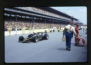 Arie Luyendyk #61 - 1986 CART Indianapolis 500 - Vintage 35mm Race Slide