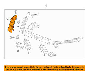 Cadillac GM OEM 13-16 ATS Radiator Core Support-Upper Extension Left 22959558
