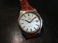 """Orologio   OMEGA    -  Automatic date  - 80""""s -  Mint Condition  - Vintage Watch"""