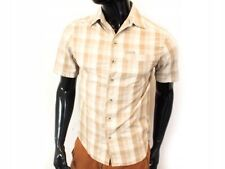 *E Columbia Mens Shirt Short Sleeve Checks size S