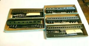 Athearn HO Train Lot of 5 Pullman Standard Passenger Cars New/Used CNJ etc
