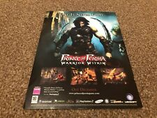 "(BEBK12) ADVERT/POSTER 11X8"" PLAYSTATION 2 : PRINCE OF PERSIA, WARRIOR WITHIN"