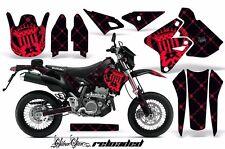 AMR Racing Suzuki Graphic Kit Bike Decal DRZ 400 SM Decal MX Part 00-15 RLOAD RK