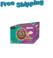 Donut Shop Duos White Chocolate Vanilla Coffee Keurig k-cups