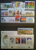 UN VIENNA 39-66 MNH United Nations 1984-1986  Complete 3 Year Run  Lot V1