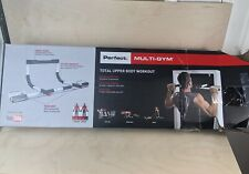 PERFECT FITNESS MULTI-GYM DOORWAY PULL UP BAR PORTABLE GYM SYSTEM BRAND NEW