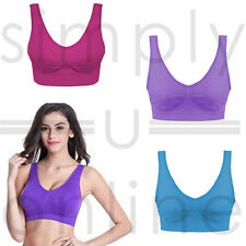 3 Pack Ultra Comfort Seamless Sport Style Bra Available In Various Colour Packs