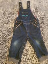 Ted Baker Baby Boys Dungaree Jeans Age Size 3-6 Months Vgc Boys' Clothing (newborn-5t)